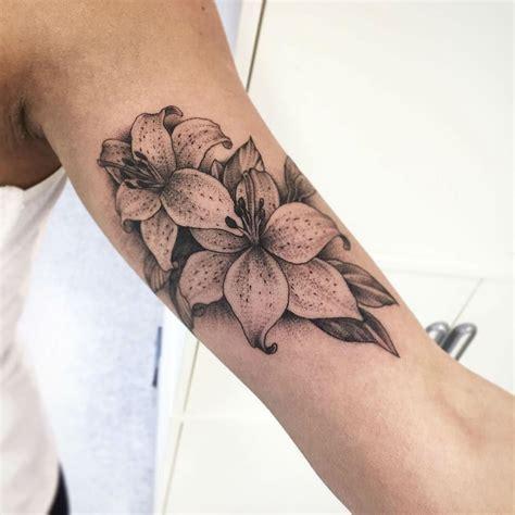 lily tattoo 24 symbolic ideas