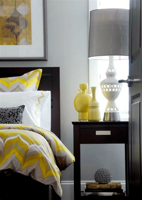 grey and yellow bedroom 20 fantastic bedroom color schemes