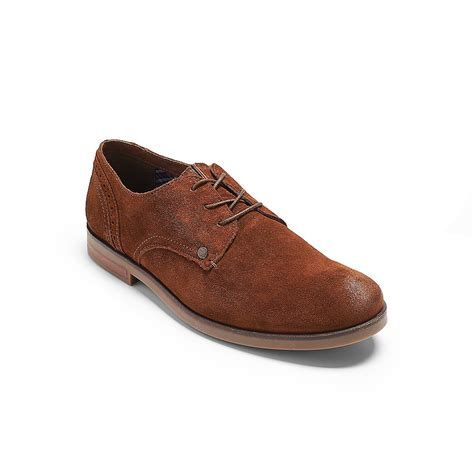 suede oxford shoes hilfiger suede oxford shoe in brown for winter