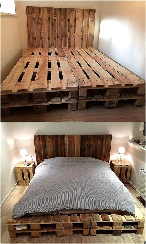 Catchy And Distinct Style Pallet Bed Diy Wooden Pallet Furniture Best 25 Pallet Beds Ideas On Palette Bed Pallet Platform Bed And Diy Pallet Bed