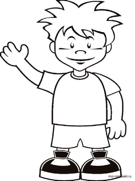 coloring pages a boy boy coloring pages free printable boy coloring pages
