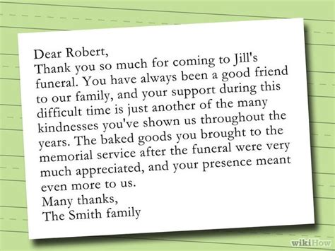 how to write appreciation letter after funeral 25 best ideas about funeral thank you notes on