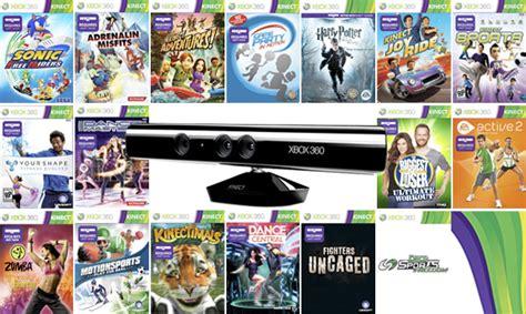 lista giochi xbox 360 kinect lista giochi kinect usciti fino ad oggi mykinect