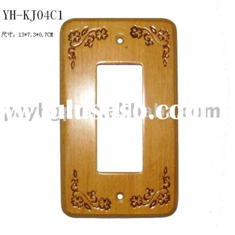 decorative electrical wall plate covers teak switch plate switch cover wooden decorative