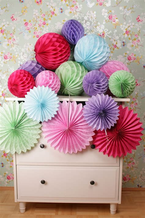 How To Make Tissue Paper Balls For Wedding - ipalmay multicolor wedding favor ideas products
