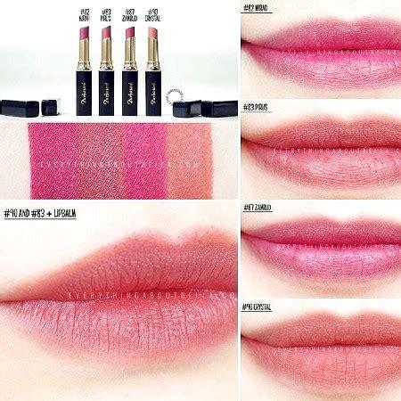 Warna Lipstik Purbasari Yang Matte harga varian warna lipstick purbasari matte terbaru