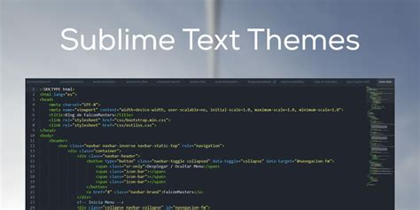 color themes for sublime text 3 como instalar themes y color schemes en sublime text 2 y 3