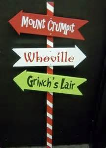 whoville sign whoville and grinch yard signs the the the grinch