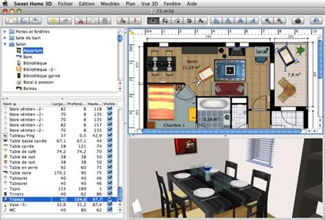 home design 3d para mac gratis sweet home 3d le design d int 233 rieur gratuit pour mac en version 3