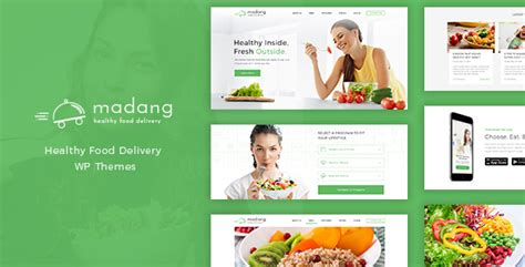 wordpress themes nutrition free madang healthy food delivery nutrition wordpress theme