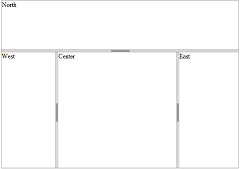javascript nested layout working with nested splitters javascript html5 jquery