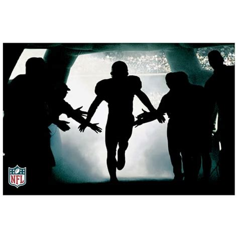 Football Wall Mural Rush The Field Wall Mural Pbteen