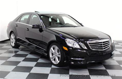 2013 E350 Review by 2013 Used Mercedes E Class Certified E350 4matic