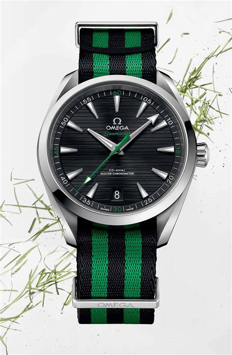 Omega Launches New Aqua Terra Golf Watches at the 2017 PGA Championship   WatchTime   USA's No.1