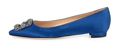 Flat Shoes Manolo 22 Satin 20 fashionable flats that won t kill your