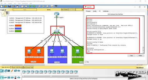 cisco packet tracer tutorial ping configure inter vlan routing in cisco packet tracer