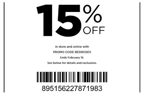 kohls 15 percent off coupon in store