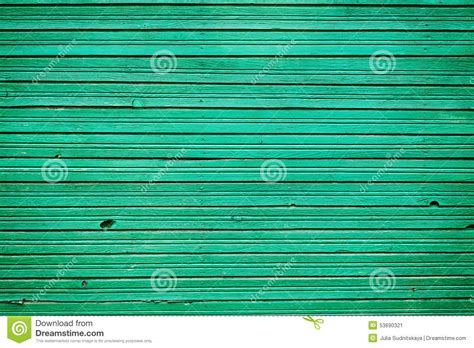 vintage wooden planks with emerald color paint wall wood for background stock photo image