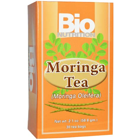 Obat Herbal Bio Moringa bio nutrition moringa tea 30 tea bags 2 1 oz 58 8 g