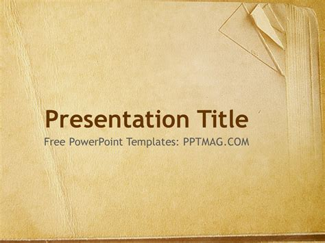 theme ppt book old paper theme powerpoint template free old book paper