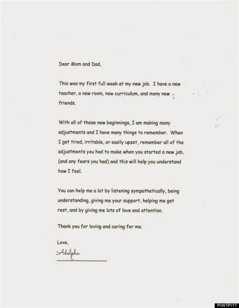 ein brief von der schule meiner tochter warf mich aus der bahn