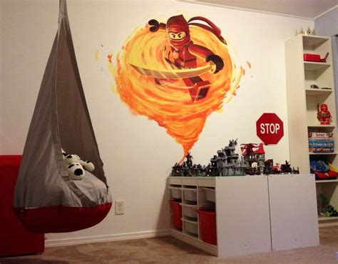 ninjago bedroom lego ninjago room indoor ideas pinterest