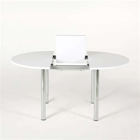 Ordinaire Table De Cuisine En Stratifie #2: table-cuisine-ronde-extensible-stratifie-lustra.jpg