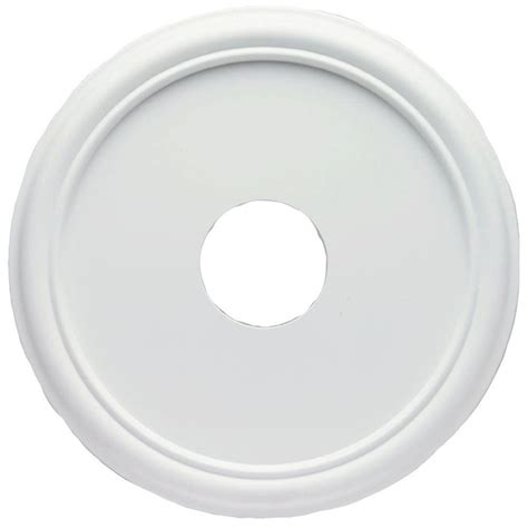 westinghouse ceiling medallion westinghouse 16 in smooth white finish ceiling medallion