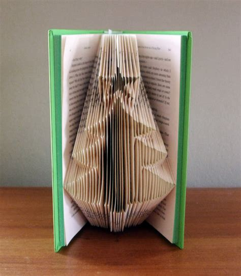 tree folded book by