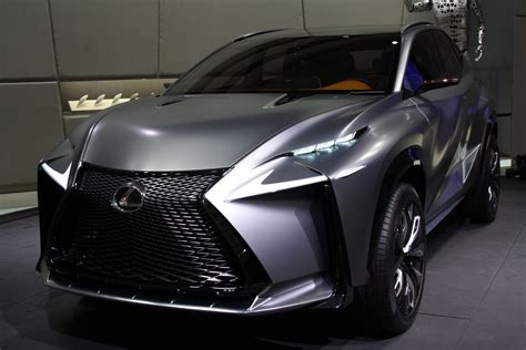 lexus lf nx production lexus lf nx suv leaked on presentation
