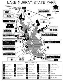 Lake Murray State Park Map lake murray state park map