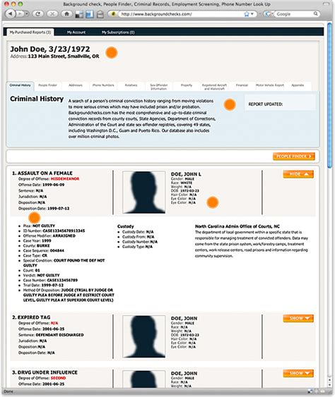 Personal Criminal Record Check National Background Check And Criminal Records