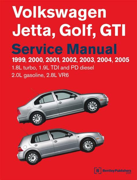vw golf jetta mk service manual