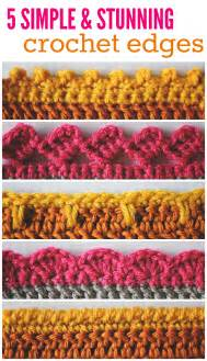 finishing 5 crochet edges you should know