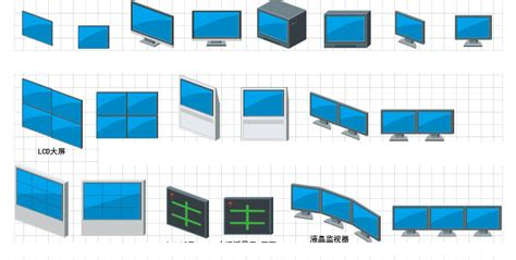 visio security shapes ip network surveillance visio icon library free