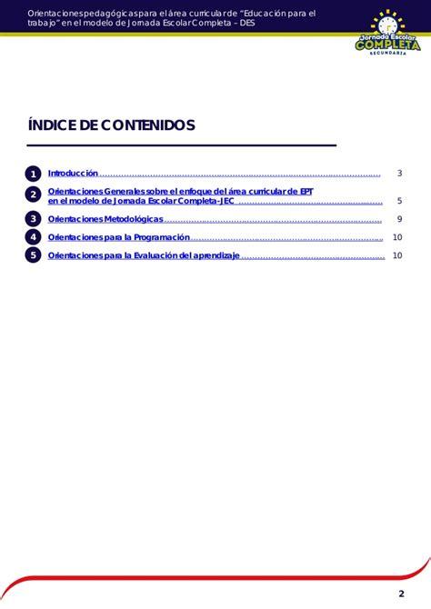 orientaciones pedaggicas ept 1703 mgj esslidesharenet orientaciones pedag 243 gicas ept 17 03 mgj
