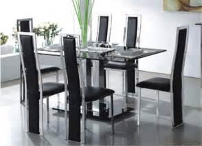 large glass dining room table glass dining room table flexibility furniture modern