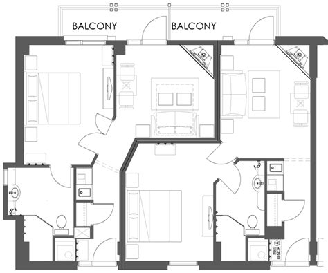 hotel suite floor plan superior one bedroom suite at the moose hotel and suites