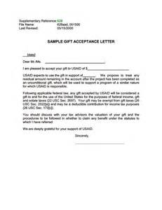 Acceptance Letter Into An Organization Ads Reference 628sad U S Agency For International Development