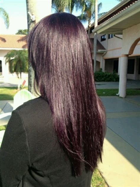 eggplant color hair eggplant i think i want to do this hair of