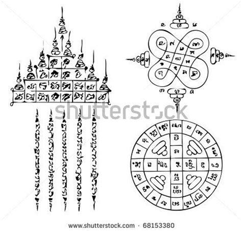 tattoo thailand alphabet thai tattoo ancient vector template tattoostockfinder