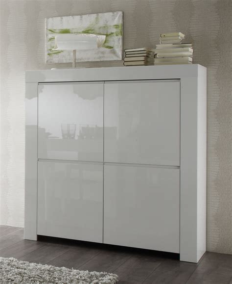 kommode highboard weiss highboard in wei 223 hochglanz lack italien livorno