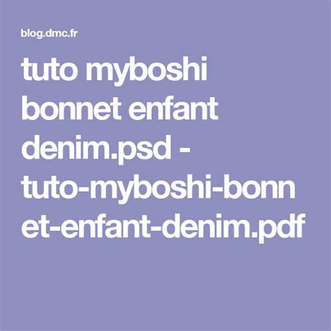 Modele Gratuit Bonnet Myboshi