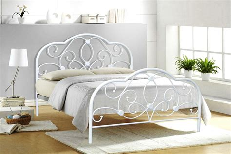 white iron bed frame white iron bed frame the right iron bed frame