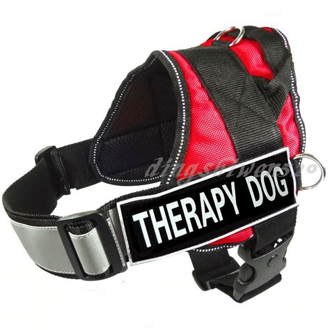 therapy vests in service dogs vests and harnesses breeds picture