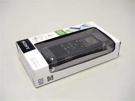 Sony Voice Recorder Icd Px 440 by 開箱 Sony Icd Px440 入門級立體聲數位錄音筆 G T Wang