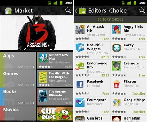 install new android market apk application v 3 0 26 - Market For Apk
