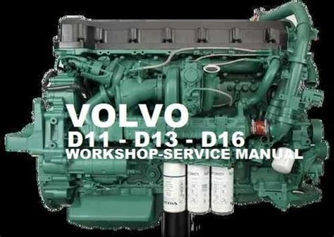 volvo marine truck engine d13 service repair manual