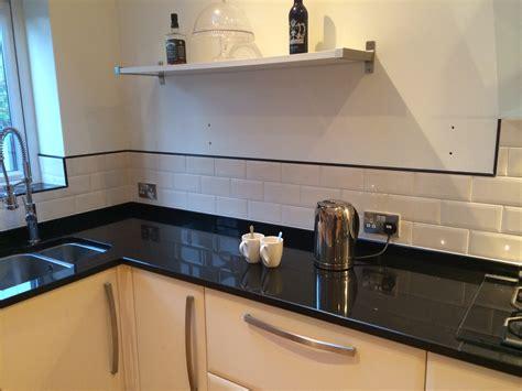 White Metro Tiles Kitchen - case study andy carroll tiling