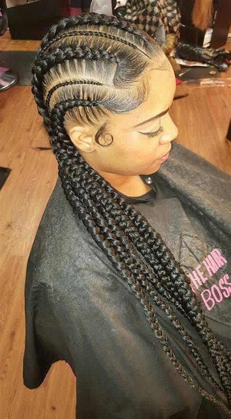 braided ponytail hairstyles for black women on pin up braids hairstyles pinterest beautiful braids black